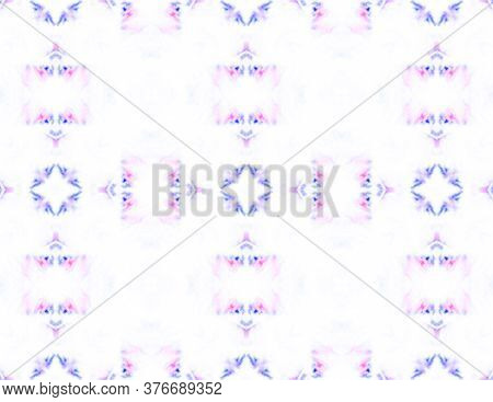 Spring Geo Pattern. Marrakech Texture Design. Simple Textile Print. White, Pink Marrakech Texture De