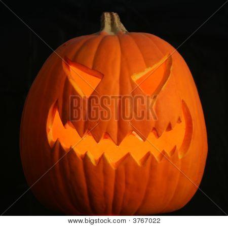 A Scary Jack O Lantern