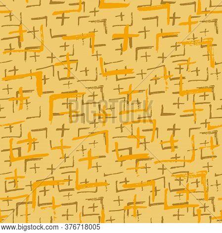 Tie Dye Japanese Geometric Shibori Seamless Pattern. Boho Tie Dye Folk Batik. Geo Wabi Sabi Bohemian