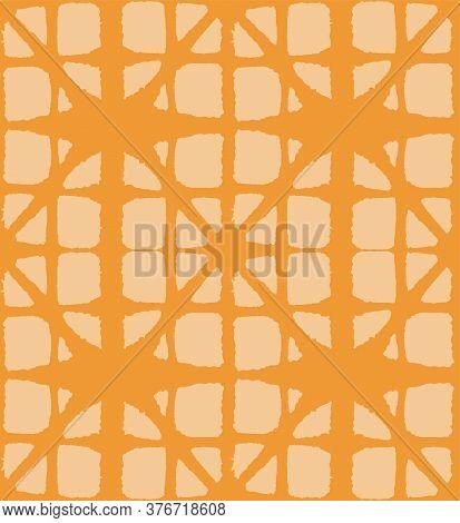 Japanese Tie Dye Seamless Pattern. Bohemian Kimono Fabric. Vintage Shibori Seamless Pattern. Bohemia
