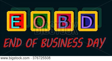 Business Communication Word Short Form Animated Text Background.