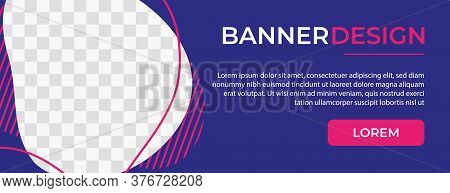 Abstract Banner Template Design. Horizontal header, web banner. Social Media Cover, poster. Vector abstract geometric design banner web template. Vector illustration . Banner . Banner template . banner design . web banner template . horizontal banner head