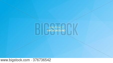 Abstract Sky Blue Background Design