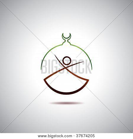 Turkish dervish logo
