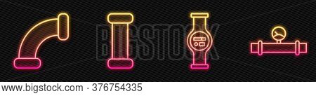 Set Line Water Meter, Industry Metallic Pipe, Industry Metallic Pipe And Industry Pipe And Manometer