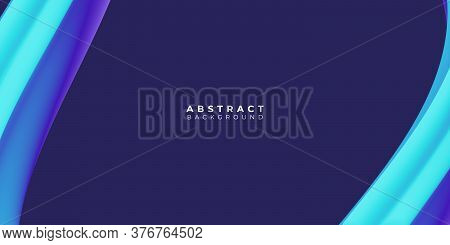 Blue Background Of Gradient Smooth Background Texture On Elegant Rich Luxury Background Web Template Or Website Abstract Dark Background Gradient Or Textured Background Blue Paper. Vector background EPS10 . background trend 2021