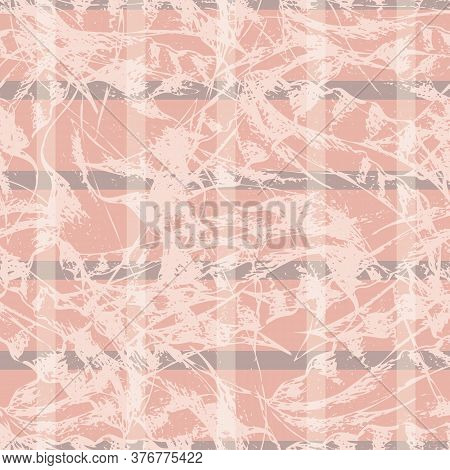 Monochrome Pink Vector Marbled Fluid Paint Texture Seamless Pattern Background Streaked And Variegat