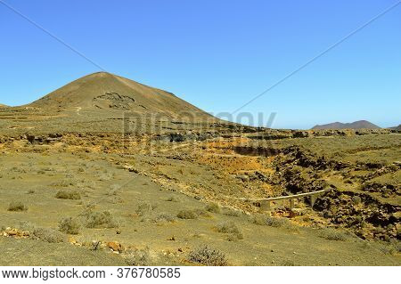 Rofera De Teseguite Rock Formations In Lanzarote Onr Of The Canary Islands