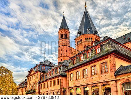 St. Martins Cathedral Of Mainz - Rhineland-palatinate, Germany