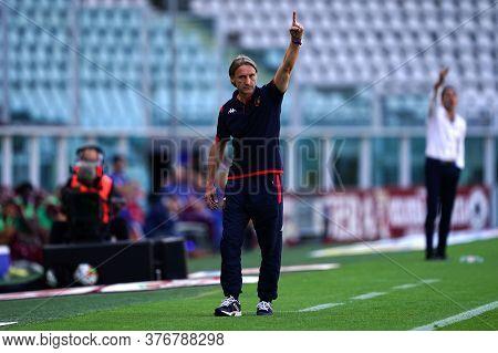 Torino, (italy). 16th July 2020. Italian Football Serie A. Torino Fc Vs Genoa Cfc. Davide Nicola Hea