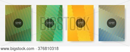 Gradient Zig Zag Stripes Texture Vector Backgrounds For   Annual Reports. Abstract Zig Zag Gradient
