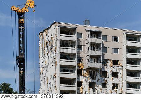 The Demolition Apartment Building.