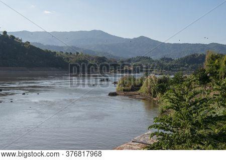 Lao Huay Xay Mekong River View