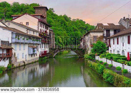 The Pretty Village Of Saint Jean Pied De Port