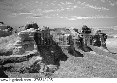 Rofera De Teseguite Rock Formations In Lanzarote One Of The Canary Islands