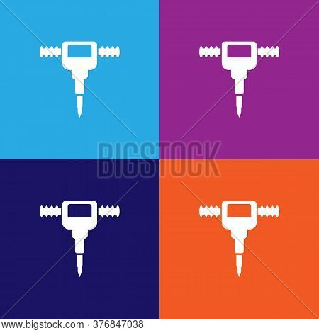 Jackhammer Premium Quality Icon. Elements Of Constraction Icon. Signs And Symbols Collection Icon Fo