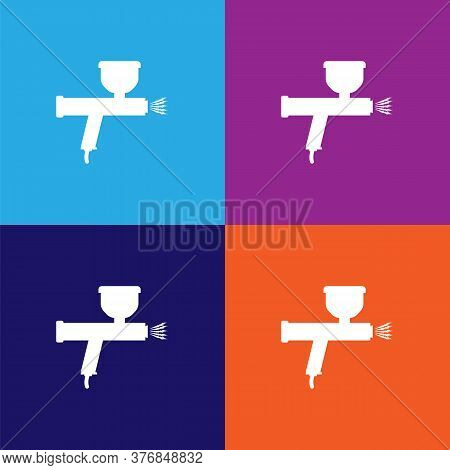 Spray Premium Quality Icon. Elements Of Constraction Icon. Signs And Symbols Collection Icon For Web