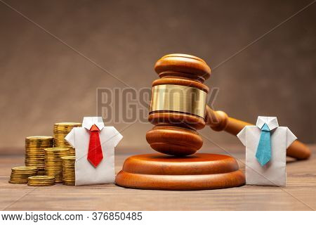 Business And Law. Separation Of Company And Company Money In Court. Borrow Money From The Company. B