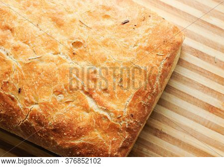 A Delicious Loaf Of Ciabatta Artisan Bread, A Very Healthy Choice