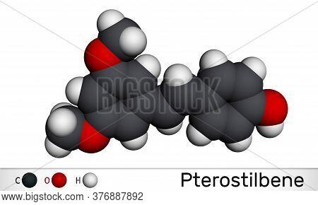 Pterostilbene, Stilbenoid Molecule. It Has A Role As Metabolite, Antioxidant, Antineoplastic Agent,