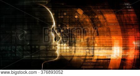 Electronic Engineering and Robotic Circuitry Background Art 3d Render