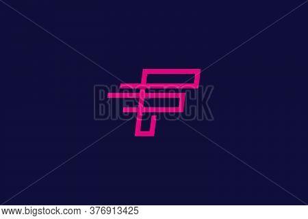 F . F logo . F design . F vector . F icon . F images . Letter F logo design . Line art logo concept