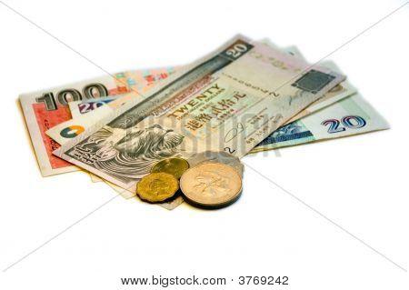 Hong Kong Dollar (Hkd) On White