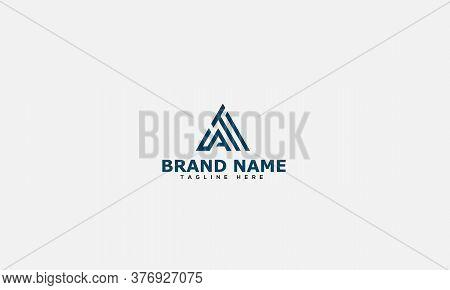 At Logo Design Template Vector Graphic Branding Element.