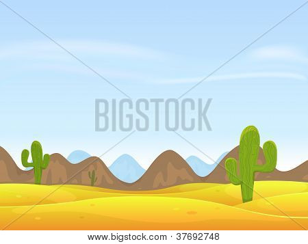 Desert Landscape Background