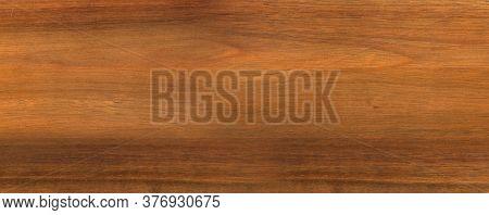 Clean Brown Teak Wood Texture Banner Background