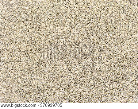 Food Texture Background From Amaranth. Stock Photo.