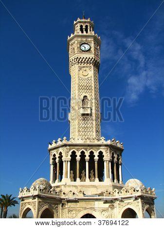 Clock Tower (saat Kulesi) In Izmir