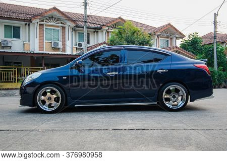 Nissan Almera An Eco Car Modified Into Vip Style.