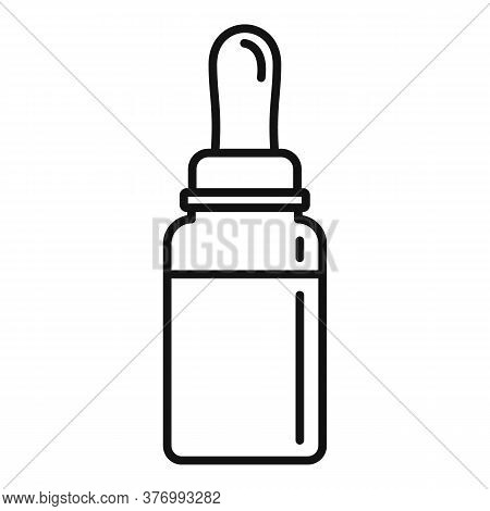 Cough Syrup Ointment Icon. Outline Cough Syrup Ointment Vector Icon For Web Design Isolated On White