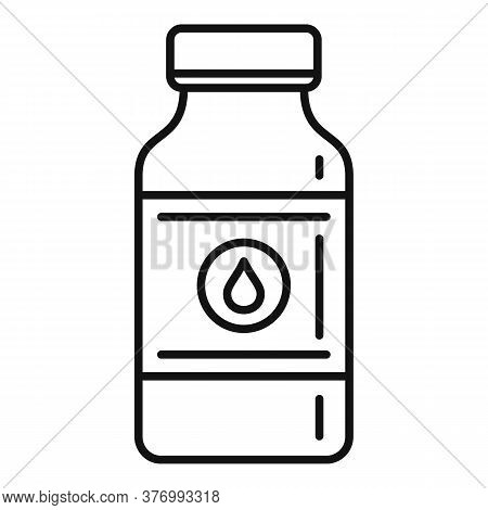Aid Cough Syrup Icon. Outline Aid Cough Syrup Vector Icon For Web Design Isolated On White Backgroun