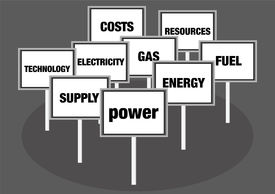 Power and energy concept