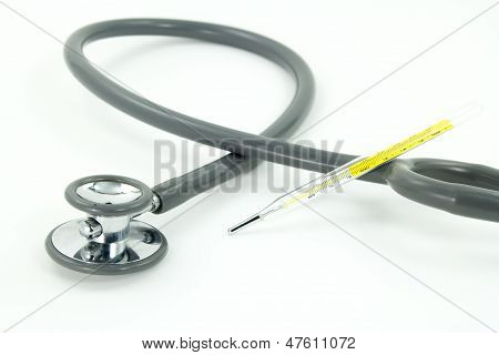 Medical Item On White Background