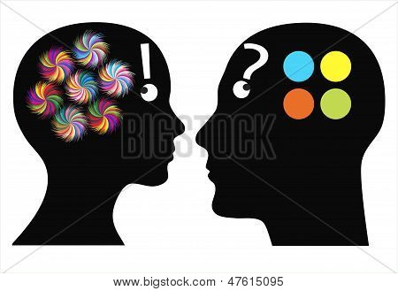Who is more creative?