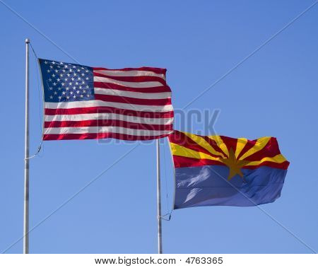 Us And Arizona Flags Copy