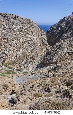 Traxoulas canyon (Lendas), Crete