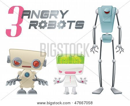 Three Angry Robots