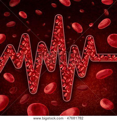 Blood Cells Concept
