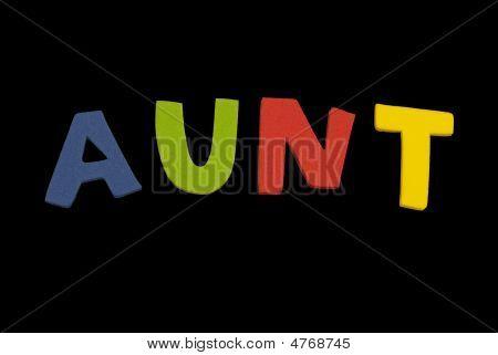 Word Aunt