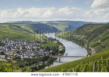 View On Mosel Valley