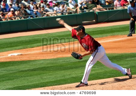 Arizona Diamondbacks Cy Young Winner Brandon Webb