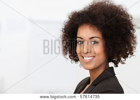 Beautiful Charming African American Woman