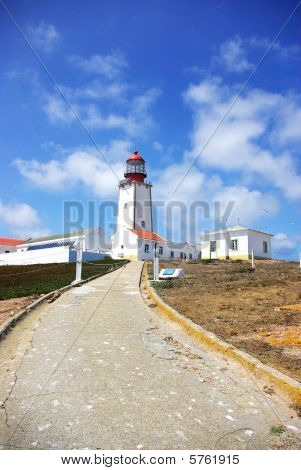 Portuguese lighthouse, Berlenga islands.