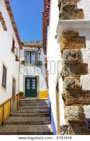 Obidos, old village at Portugal.