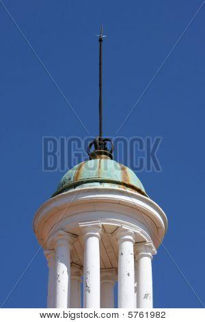 Copper Dome With Columns
