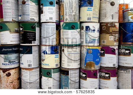 Paint Cans Recycling